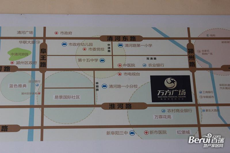 万方金融广场交通图