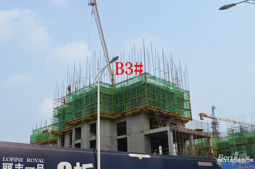 丽丰一品B3号楼建至7层左右