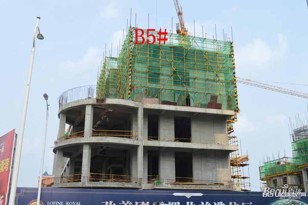 丽丰一品B5号楼建至7层左右