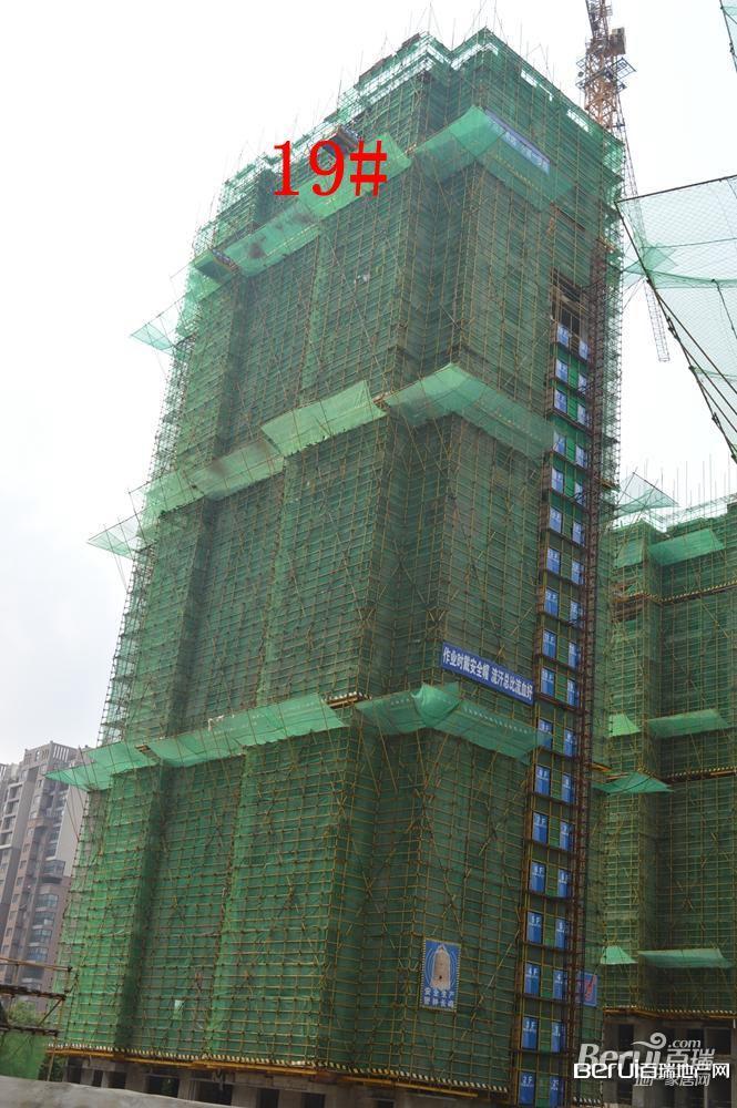 丽丰一品19#号楼建至27层左右