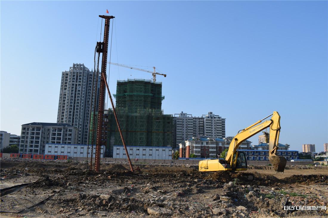 碧桂园·颍州府项目动工现场