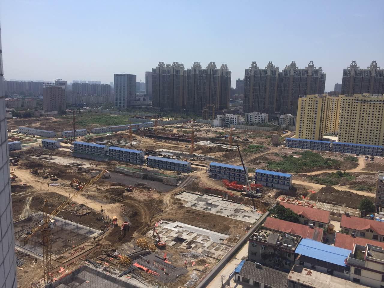 碧桂园·颍州府工程现场