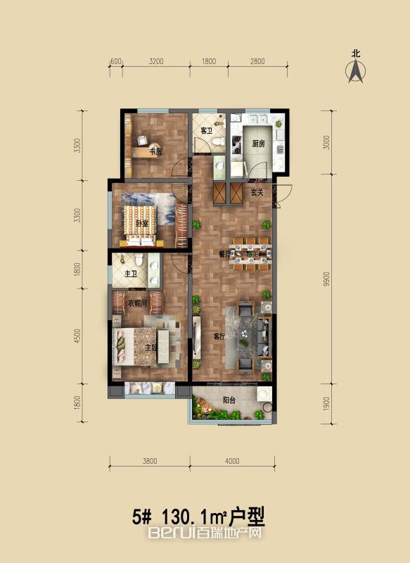 天筑郦城户型图