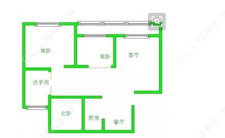 3室2厅1卫113.00平