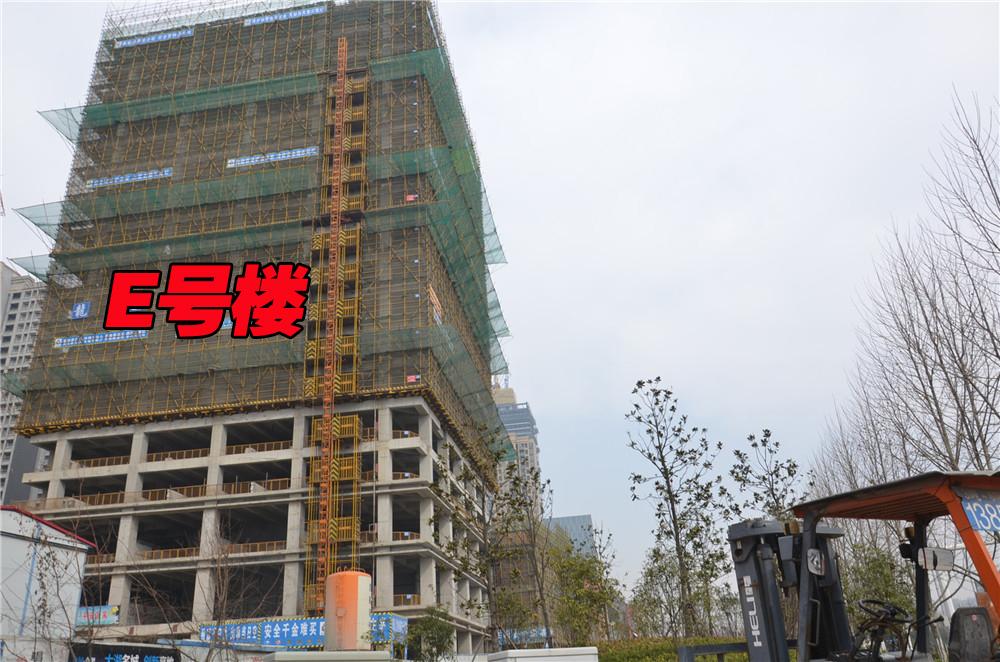 E#楼工程进度(2016.2.19)