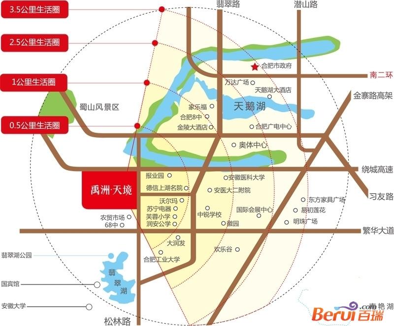 小微公馆交通图