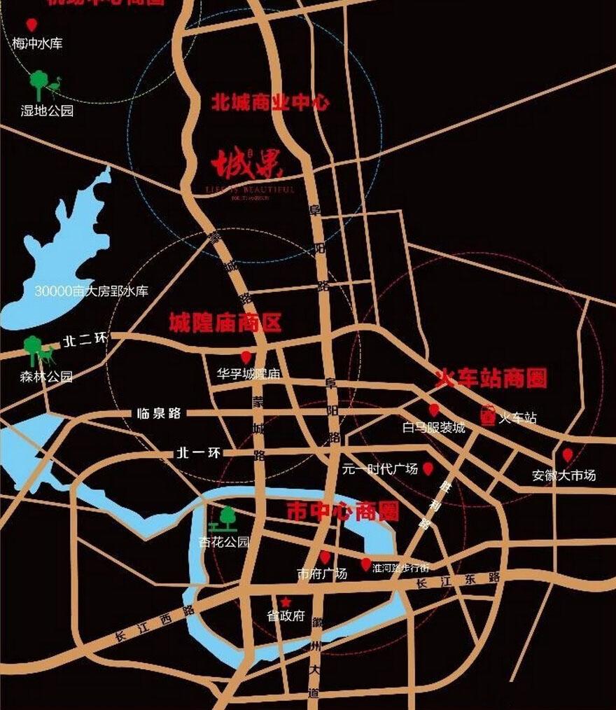 恒泰阿奎利亚交通图