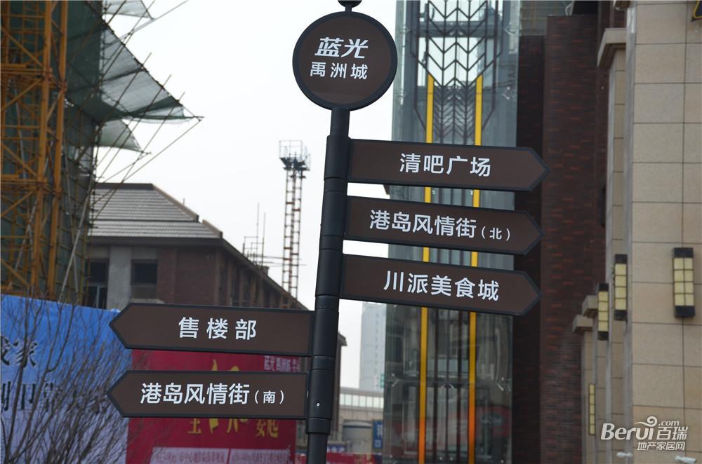蓝光禹洲城【耍街】实景图