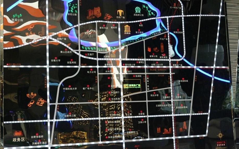 宝利丰广场交通图