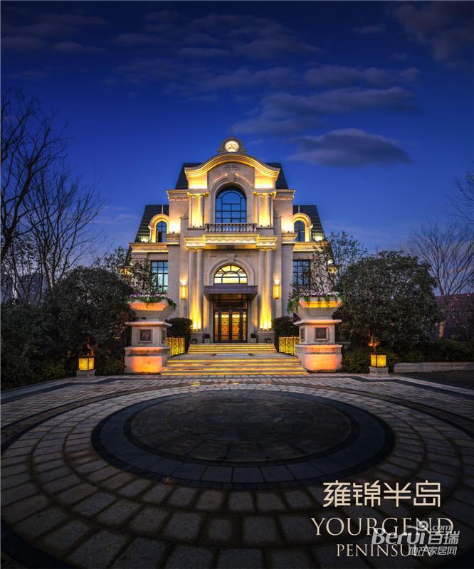 蓝光雍锦半岛效果图