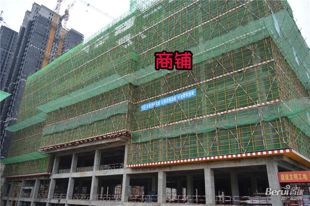 宝利丰广场商铺建至约7层 34/60