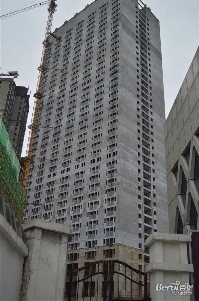 宝利丰广场住宅外围软装已完成 31/60