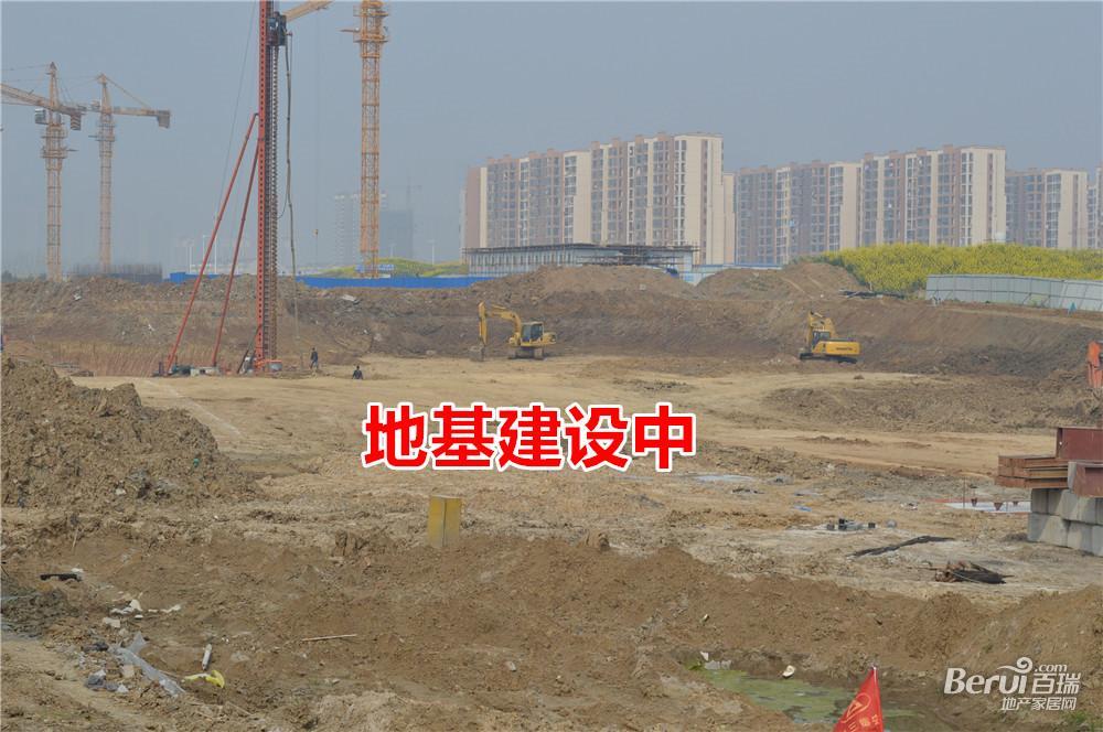 国贸天悦基础建设中
