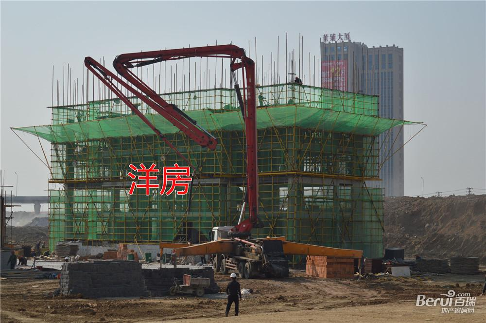 旭辉庐阳N1508号地块洋房建至4层