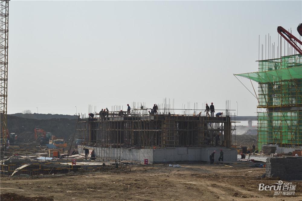 旭辉庐阳N1508号地块住宅正在建设中