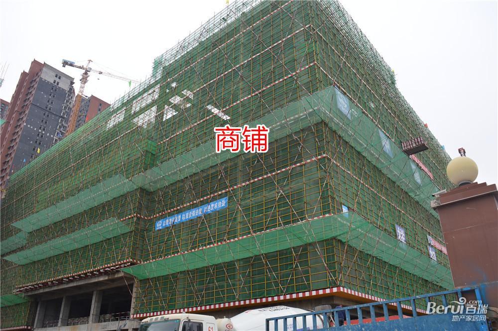 宝利丰广场商铺4月最新工程进度 27/60
