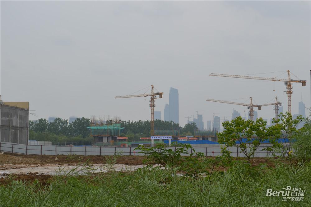 国贸天悦4月最新工程进度