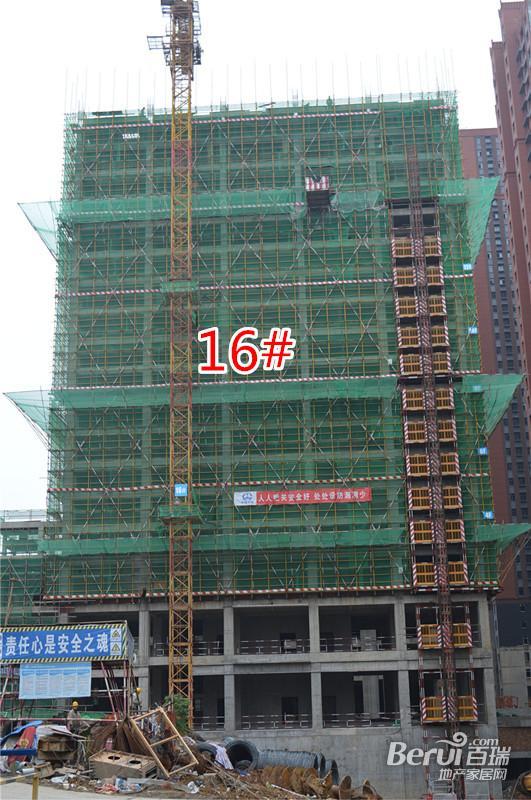 宝利丰广场16#4月最新工程进度 28/60