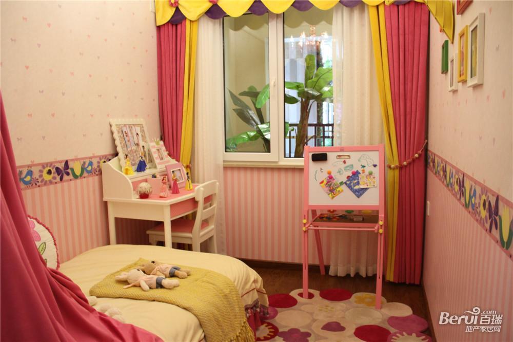 中国铁建国际公馆107㎡B1样板间儿童房