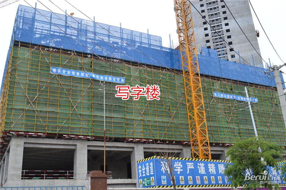宝利丰广场写字楼最新工程进度 24/60