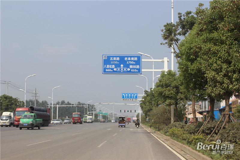 高速时代城周边道路