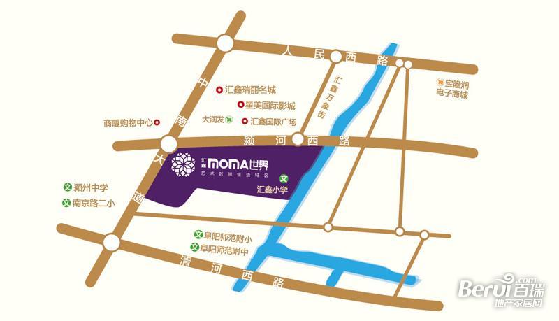 汇鑫摩玛世界交通图