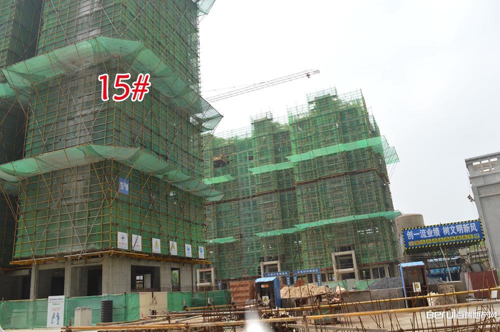 御景城15#已经建至18层