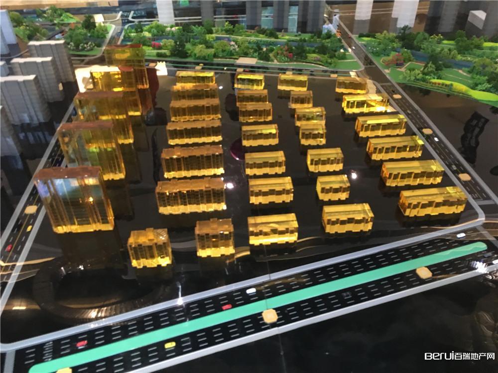 中海央墅沙盘图