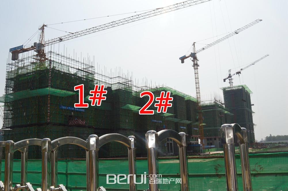 中国铁建国际公馆工程现场