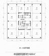 华地金融中心 20-24层平面图 1625平