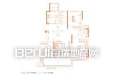 祥源·玖悦湾98㎡Y1户型图