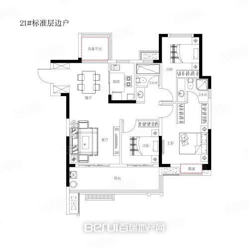 祥源·玖悦湾户型图