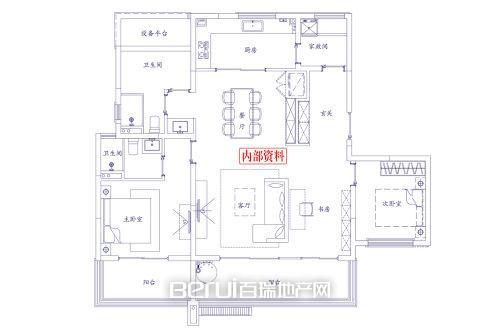 3室2厅2卫130㎡