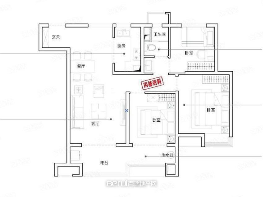 3室2厅2卫139㎡