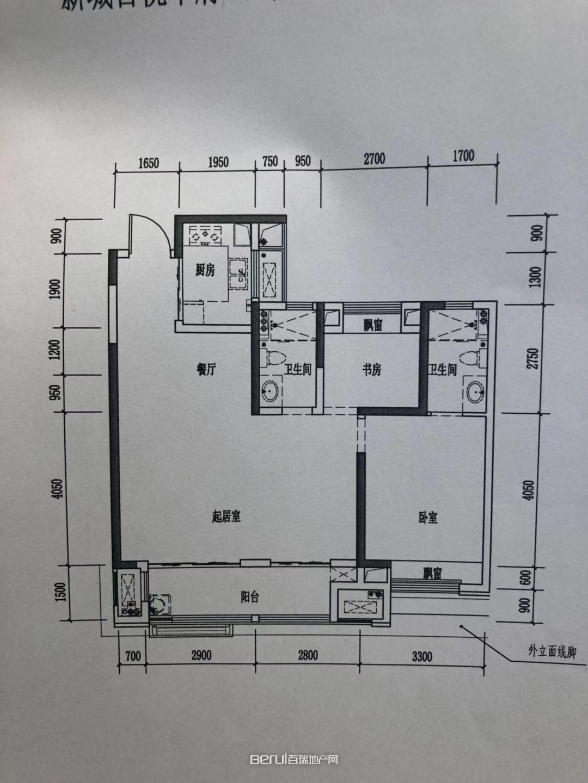 肥东新城吾悦广场户型图