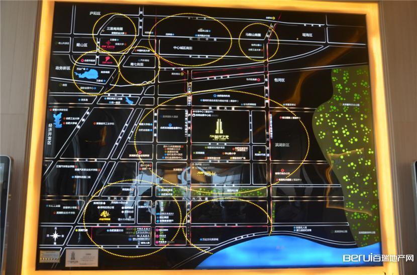 万科时代之光交通图