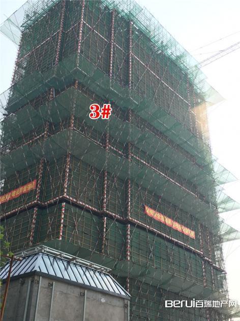 绿地御徽3#最新工程进度