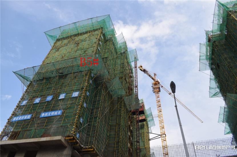 丽丰一品B5#建至15层