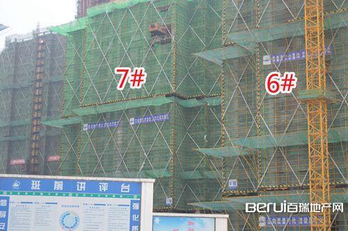 华地翡翠蓝湾工程现场