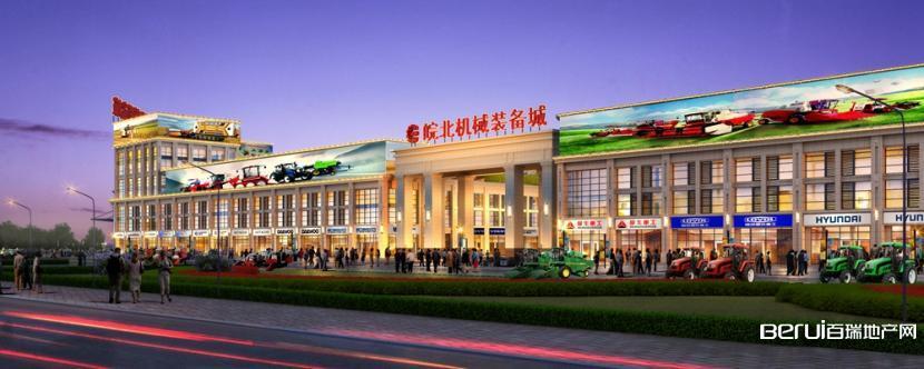 皖北机械装备城沿街图