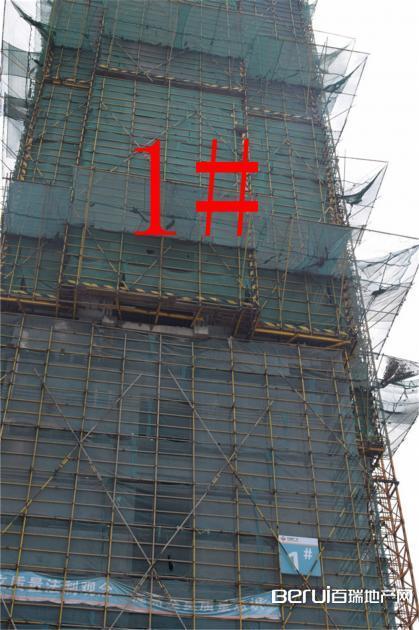阜阳商厦国际城工程现场