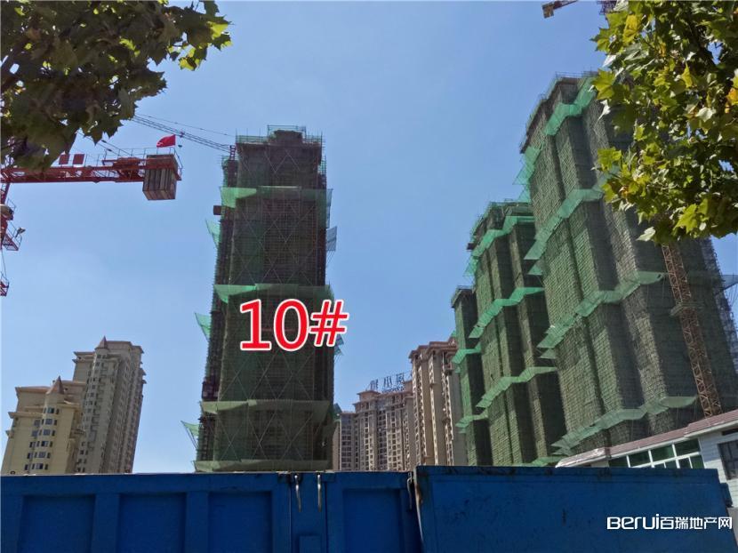 圣联梦溪小镇10#楼封顶