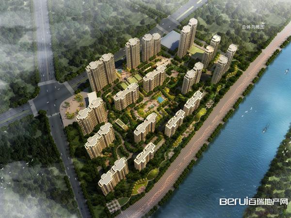 弘宇·雍景湾鸟瞰图