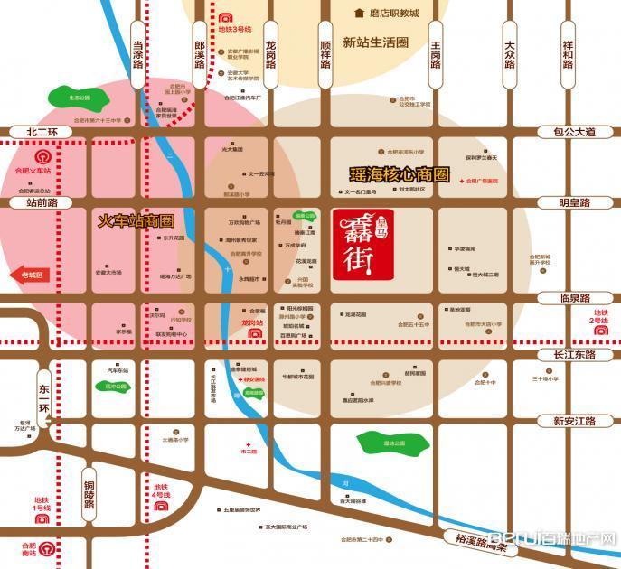 皇马馫街交通图