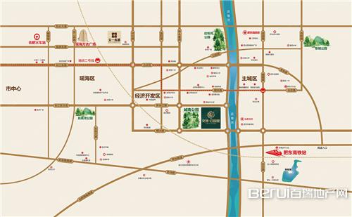 文德公园里交通图