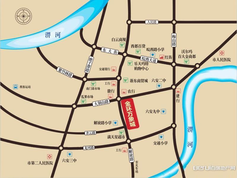 金环万象城交通图