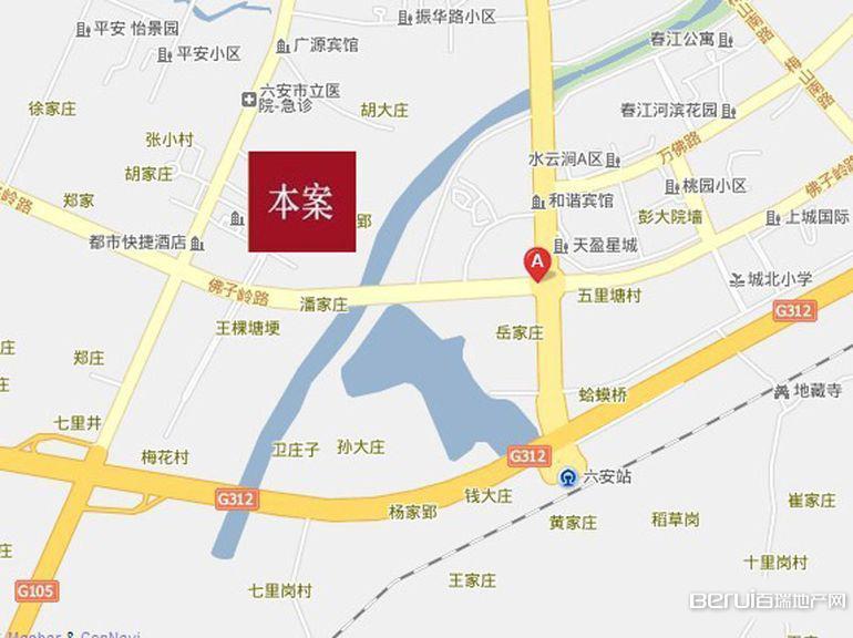 大唐美林湾交通图