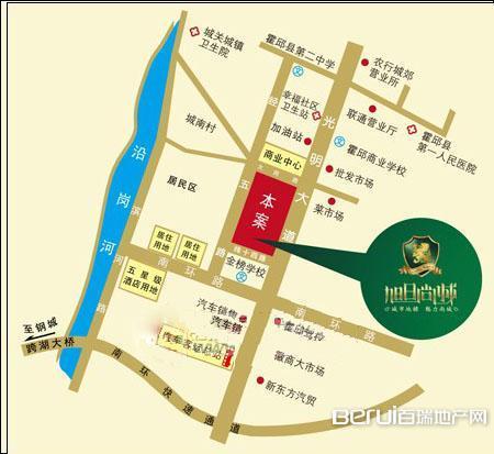 旭日尚城交通图
