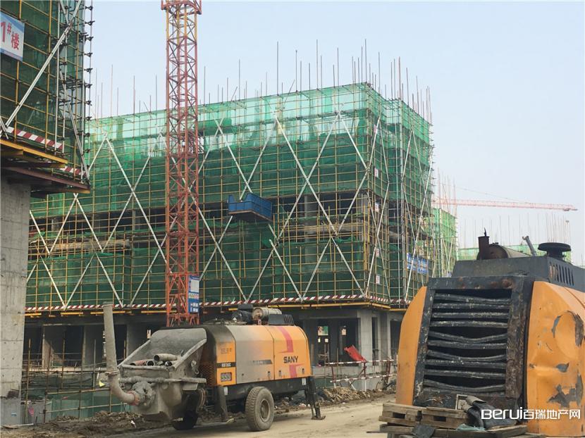 信达公园里项目最新工程进度