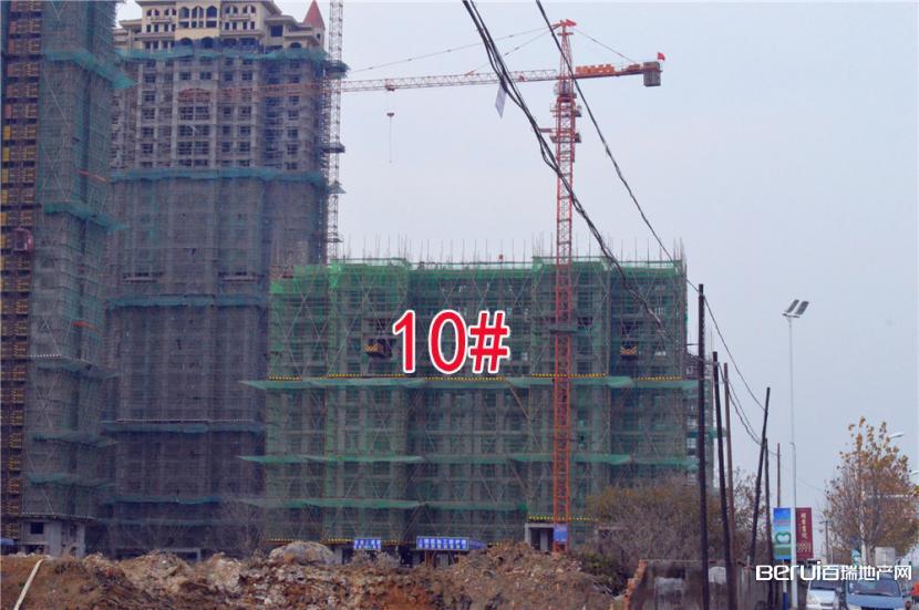 圣联梦溪小镇10#建至11层左右
